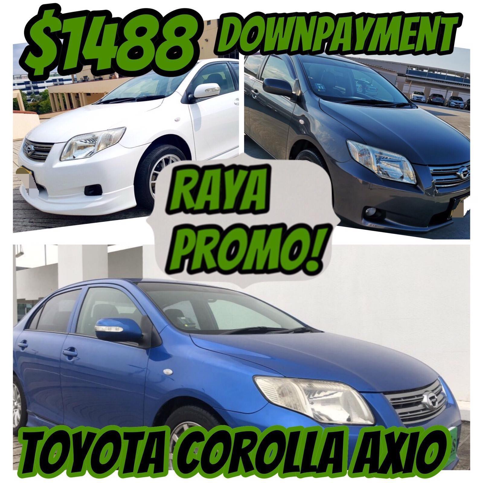 Toyota TOYOTA COROLLA AXIO