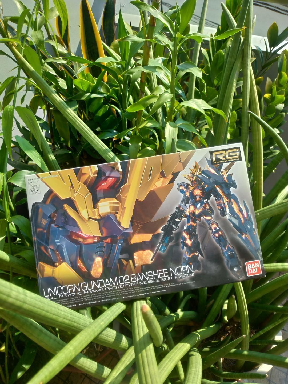 Unicorn Gundam 02 Banshee Norn RG BANDAI