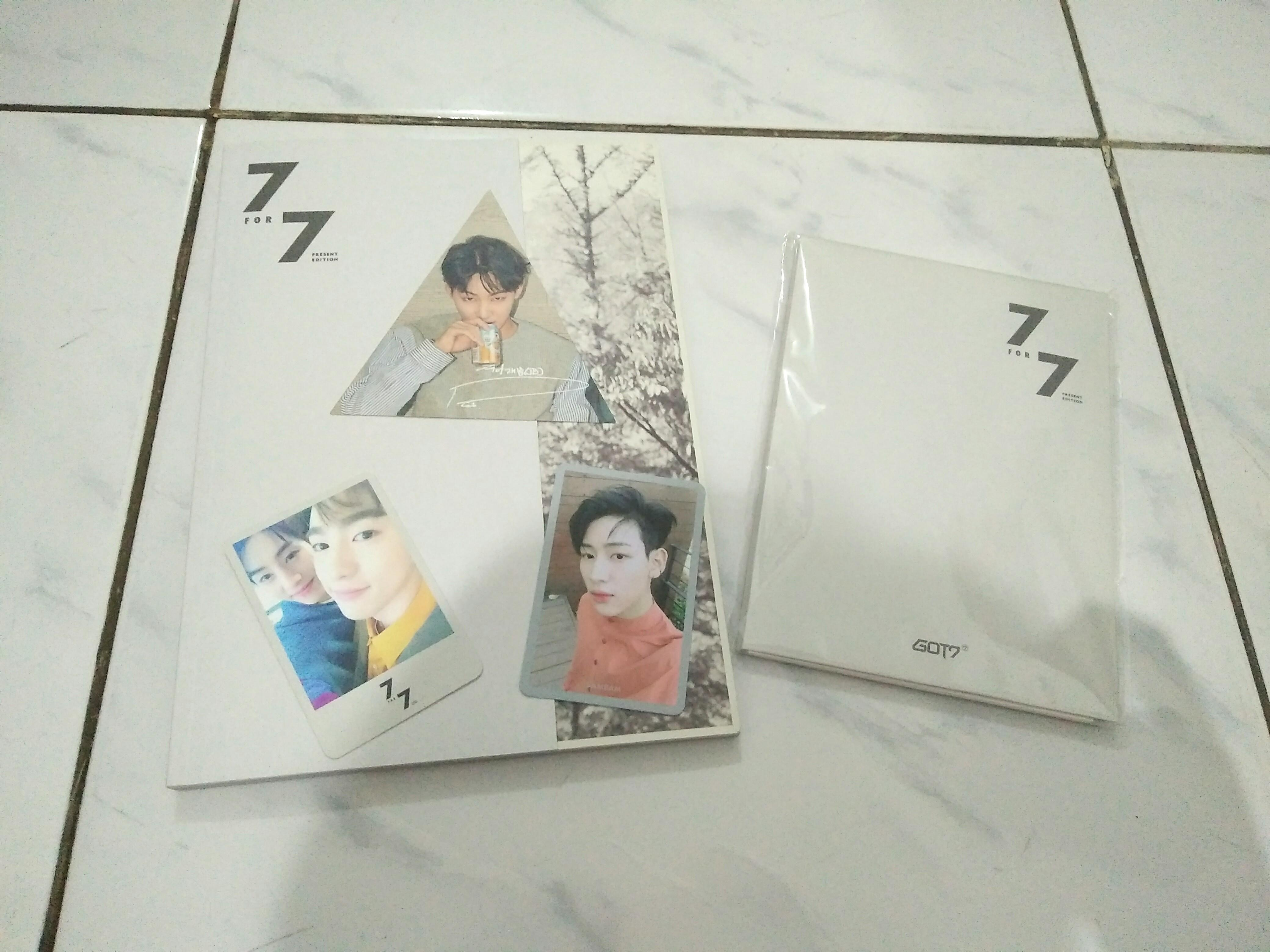 [Unsealed] GOT7 7 for 7 Pesent Edition Starry Hour ver. Album