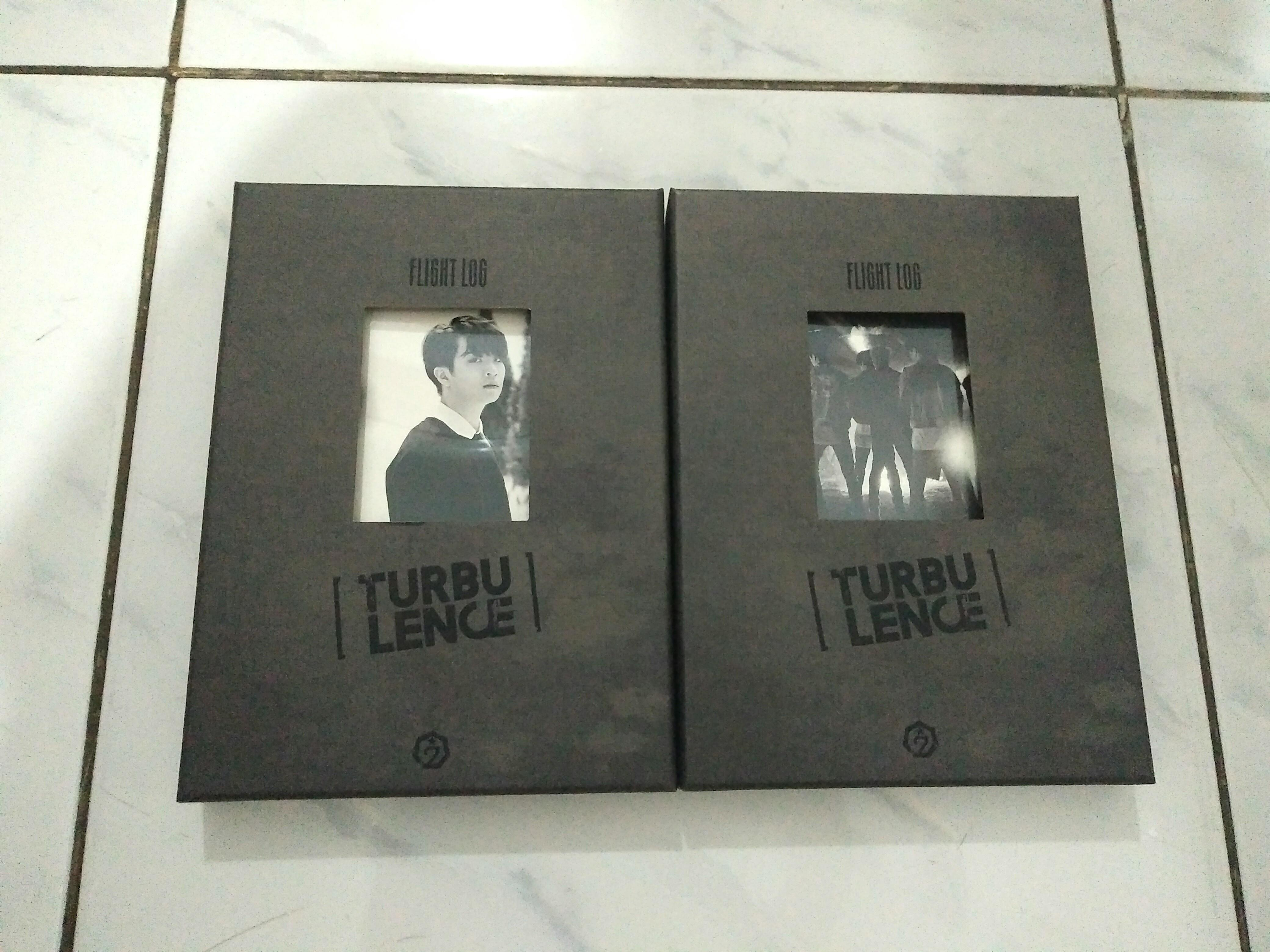 [Unsealed] GOT7 Flight Log : Turbulence Youngjae ver. & Group ver. Album