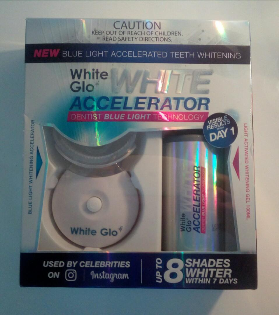 White Glo - Blue light accelerated teeth whitening