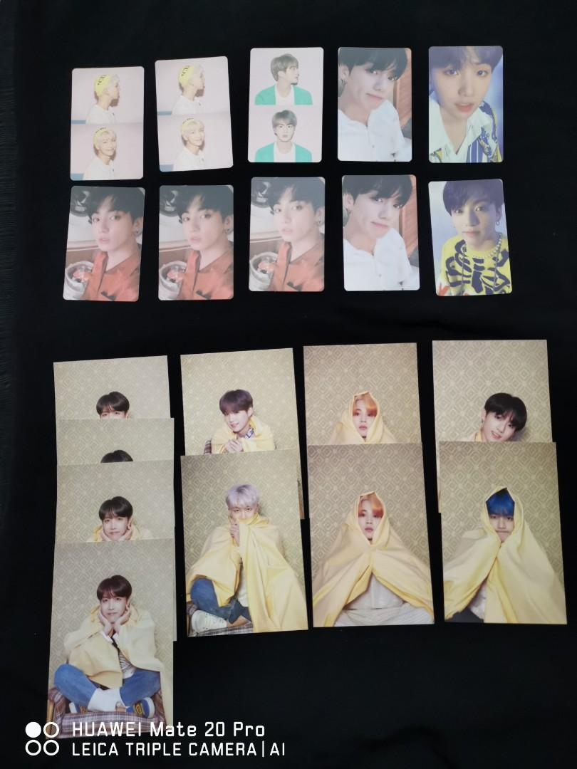[WTS/LFB] BTS MAP OF THE SOUL PERSONA PHOTOCARD/ POSTCARD