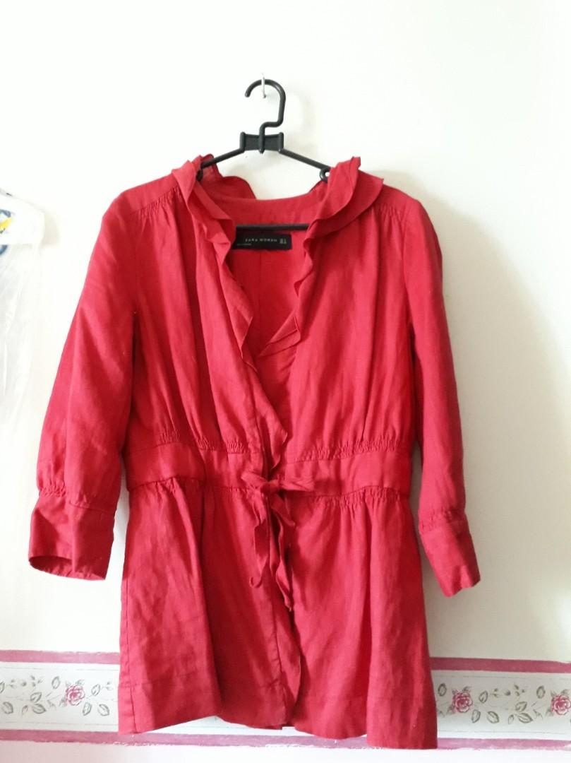 Zara outer red