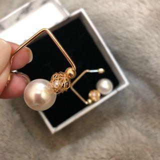 🚚 「全新」925銀/韓式珍珠耳環💍