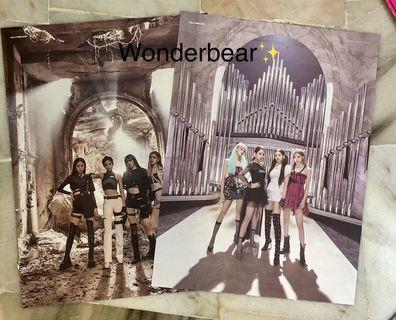 BLACKPINK Official Poster (Double side)