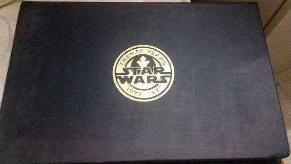 star wars 24karat gold movie poster cards