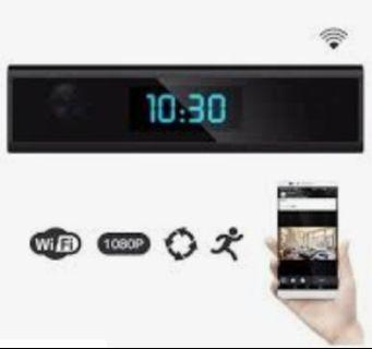 1920x1080 Wifi Mini Desk Clock Ip Camera