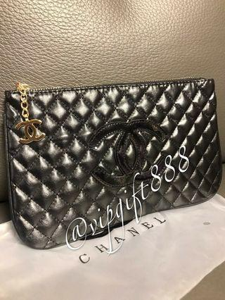 Chanel Vip Gift Clutch Bag
