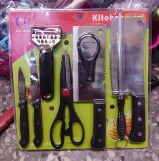 廚房刀具組 Kitchenware , kitchen knife set - new