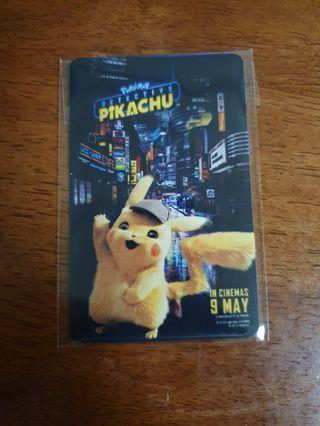 Detective Pikachu ezlink card