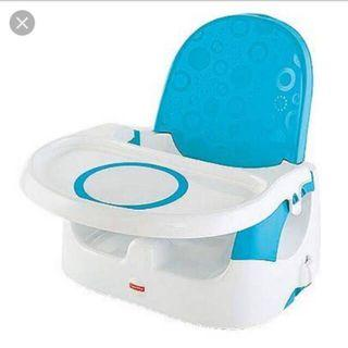 Baby Chair - Preloved - Fisher Price Deluxe Quick Clean Portable - tempat duduk makan bayi
