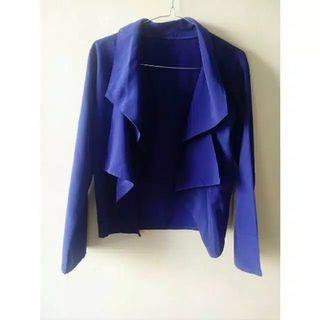 Blazer layer (biru Electric)