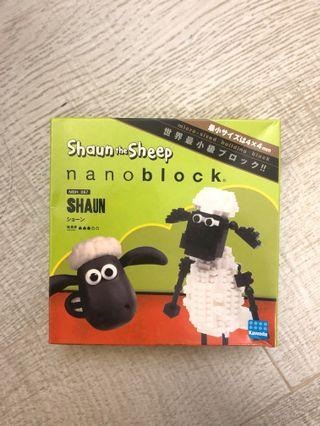 Nanoblock NBH-067 Shaun the sheep - Shaun