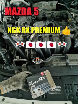 Mazda 5 SkyActiv spark plugs Replacemen (NGK RX PREMIUM 🇯🇵👍)
