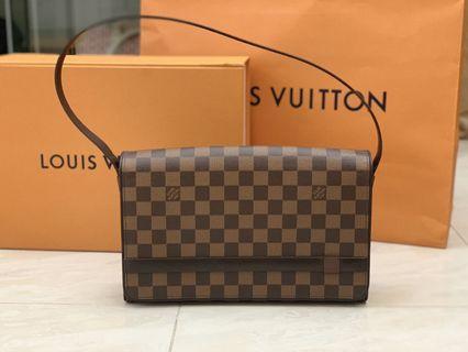 Authentic Louis Vuitton Damier Tribeca Shoulder Bag