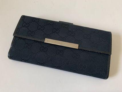 Authentic Gucci Monogram Classic Wallet