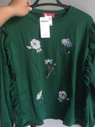 green flower tops (nego)