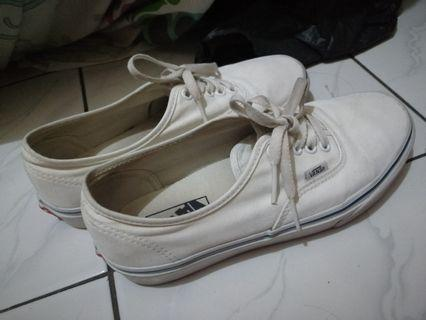 Vans original Authentic White size 39