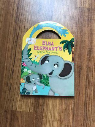 BBW BOARD BOOK ELSA ELEPHANT