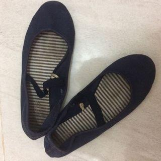 Ballerina flatfshoes nvy