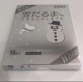 🚚 日本🇯🇵 白色戀人 季節限定雪人白巧克力