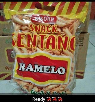 Snack kentang Ramelo