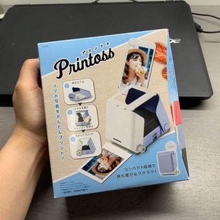 日本 Printoss 相印機。藍