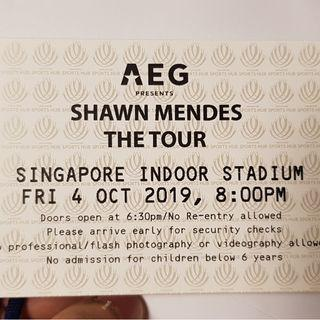 Shawn Mendes Cat 1 Tickets