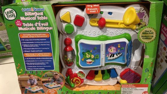 Leap Frog Bilingual Musical Table