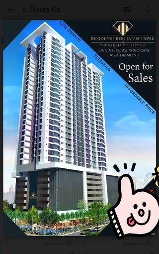 Setapak Low Density Freehold Condo 😎 Only 228units