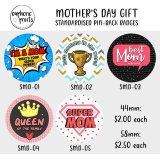 Mother's Day Badges