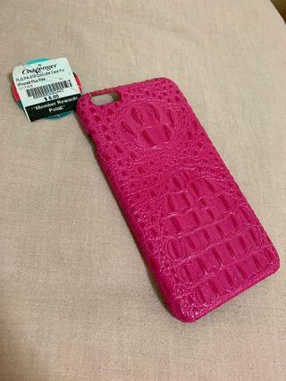 🚚 PLG PA-319 Crocodile Case For iPhone6 Plus (Pink)