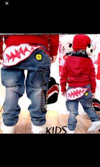 Size 6 boy's denim pants