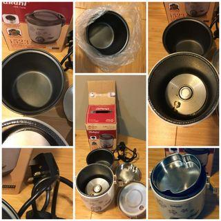 Takahi 2cup Travel Rice Cooker [FREE NEW Inner Pot)
