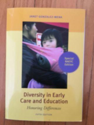 Diversity in Early Care Education by Janet Gonzalez-mena