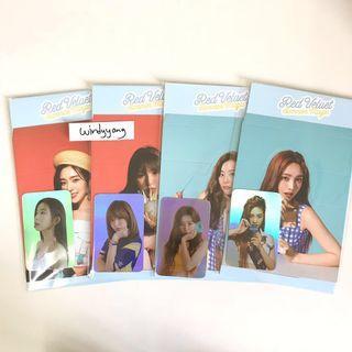 [WTS] Red Velvet Summer Magic Hologram PC + Standee