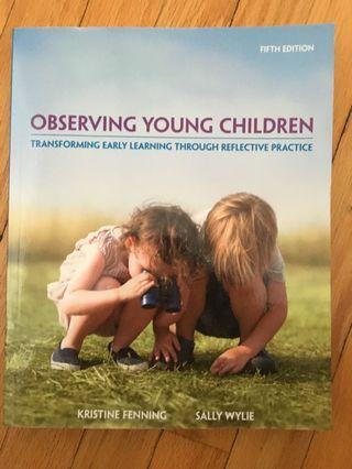Observing Young Children by Kristine Fenning
