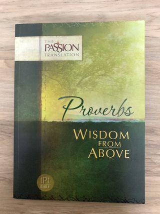 🚚 Book of Proverbs, Passion Translation