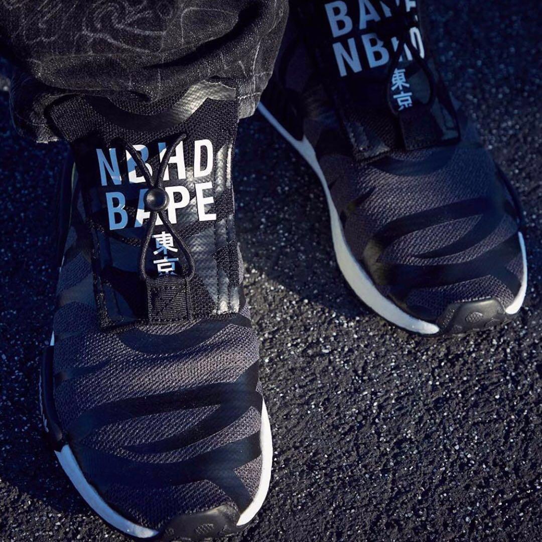 436dd792aa123 02x Neighborhood x A Bape x Adidas NMD Stealth TS1