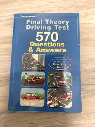 🚚 Final Theory Driving Test