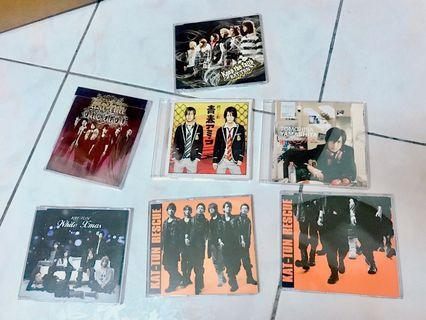 KAT-TUN/山P/修二與彰_單曲普通盤CD(單片50)