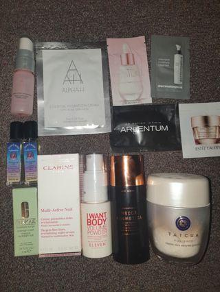 13x Skin Hair Body Care Bundle 💝 Tatcha Mecca Eleven + More