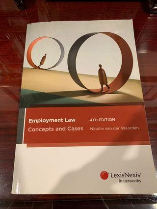 🚚 Employment Law: Concepts and Cases