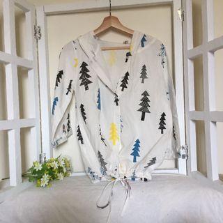 春秋日系森林外套