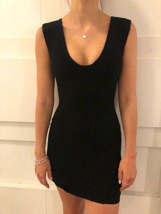 Aritzia Talula Little Black Dress Bodycon