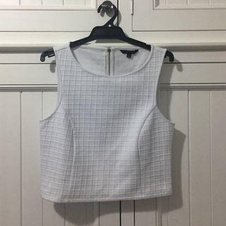 White Size XS Portmans Work Top