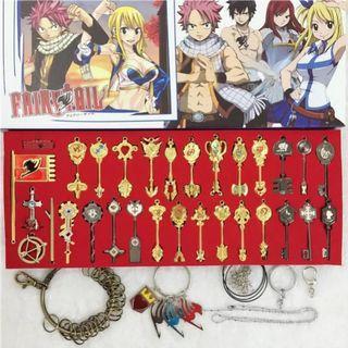 🚚 Fairy Tail Lucy keys set