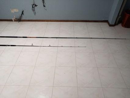 Fishing Rod 12'feet and 8'feet