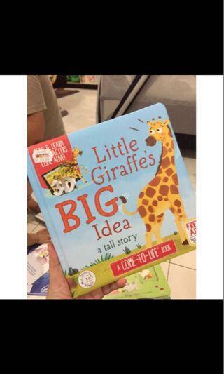 Preloved BOOK - buku bayi/anak little giraffe