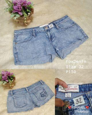 FoxDenim Shorts